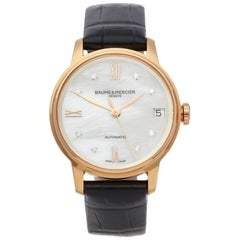 Baume And Mercier Classima 18k Rose Gold MOA10286