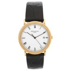 Patek Philippe Yellow Gold Calatrava Men's Quartz Watch Ref. 3944 J or 3944J