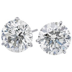 Diamond Stud Earrings 4.79 Carat H I1