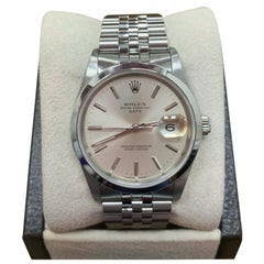 Rolex 15200 Date Silver Dial Stainless Steel Mint Condition Box and Papers
