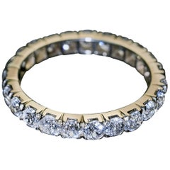 Antique French Diamond Eternity Ring
