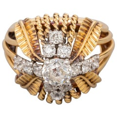 Boucheron Paris Gold and Diamonds Ring