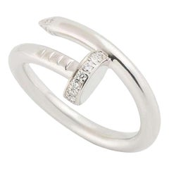 Cartier Juste Un Clou Ring Diamond Set