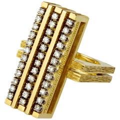 Gabriel Lucas Diamond and Gold Ring