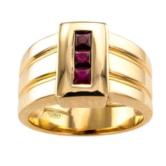 Rigoberto Ruby Gold Gentlemans Ring
