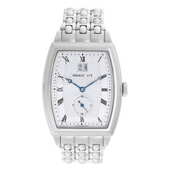 Breguet White Gold Heritage Automatic Wristwatch Ref 5480BB12BB0