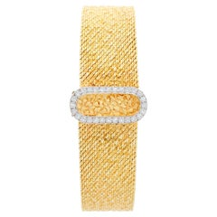 Omega 14 Karat Yellow Gold Vintage Ladies Watch