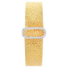 Omega 14 Karat Yellow Gold Vintage Ladies Watch