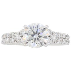 AGS Ideal Cut Diamond Engagement Ring