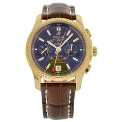 Breitling 18 Karat Gold Bentley Mark VI Special Edition Automatic Wristwatch