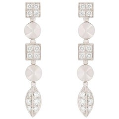 Bvlgari Lucae Diamond Drop Earrings