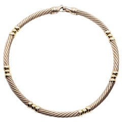 Classic Sterling Silver Necklace, David Yurman