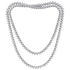 Emilio Jewelry 17.00 Carat Diamond Necklace