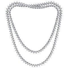 Emilio Jewelry 17.00 Carat Diamond Necklace