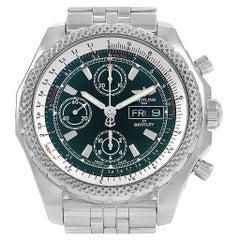 Breitling Bentley Motors GT II Green Dial Men's Watch A13365 Box Card
