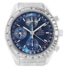 Omega Speedmaster Day-Date Blue Dial Men's Watch 3523.80.00