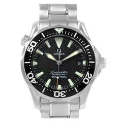 Omega Seamaster Black Dial Steel Men's Watch 2262.50.00