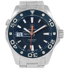 TAG Heuer Aquaracer 500M THWAJ1112BA0871 Blue Dial Steel Men's Watch WAJ1112
