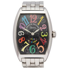 Franck Muller Cintree Curvex Colour Dreams Unisex 2852QZ Stainless Steel Watch
