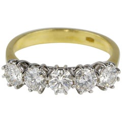 Vintage Five-Stone Diamond Ring