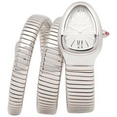 Bulgari Serpentine SP35S Stainless Steel Ladies Wristwatch