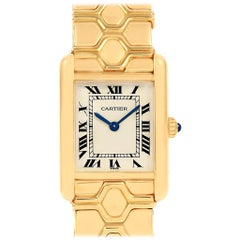 Cartier Tank Classic Paris 18 Karat Yellow Gold Ladies Watch