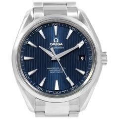 Omega Seamaster Aqua Terra Men's Watch 231.10.42.21.03.003 Box Card