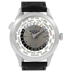 Patek Philippe World Time Complications White Gold Men's Watch 5230G
