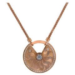 Amulette De Cartier Diamond Necklace
