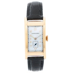 Vintage Men's Longines 14 Karat Yellow Gold Watch
