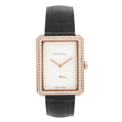 Chanel Boy Friend 18 Karat Beige Gold Ladies Watch