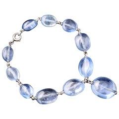 Suzanne Belperron Sapphire Bead Bracelet