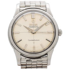 Vintage Omega Constellation Reference 14381-11-SC Stainless Steel Watch, 1961