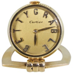 Cartier Watch with Betty Grable as Chapters, circa 1955