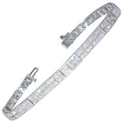 Art Deco Diamond Bracelet, circa 1930