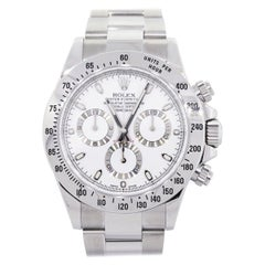 Rolex 116520 Daytona White Chronograph Dial Wrist Watch