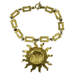 Herve Van Der Straeten Sun Necklace Made for Jessye Norman Opera Legend