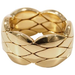Tiffany & Co. Flexible Ring Yellow Gold 18 Karat Genuine