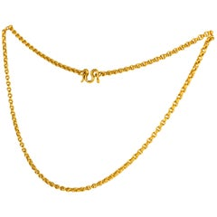 22 Karat Gold Chain, 20th Century