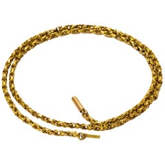 Victorian 9 Carat Gold Chain Necklace