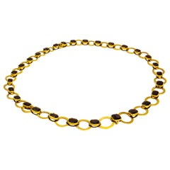 Edwardian Garnet 15 Carat Necklace