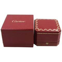 Cartier Red Ring Box
