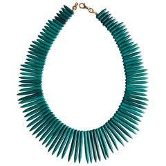 Amazonite Modern Shape Necklace