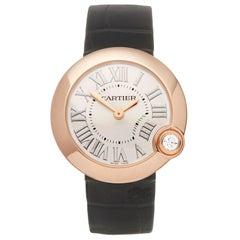 Cartier Ballon Blanc 18K Rose Gold 4171 or WGBL0003  Wristwatch