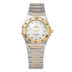 Omega Constellation My Choice Stainless Steel and 18K Yellow Gold 1361.71.00