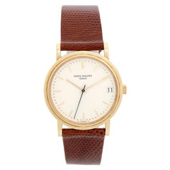 Patek Philippe Calatrava 18 Karat Men's Watch 3802, J 'or 3802J'
