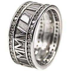Diamond White Gold Eternity Band Ring