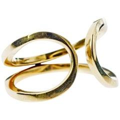 Love Ring Infinity Adjustable Bronze J Dauphin