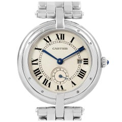 Cartier Panthere Vendome 18 Karat White Gold Ladies Watch 0092