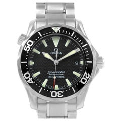 Omega Seamaster Midsize 36 Black Dial Steel Men's Watch 2262.50.00
